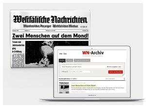 WN-Archiv, Historische Zeitungsausgaben