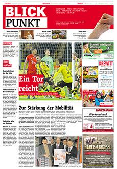 Gratiszeitungen, Titel Blickpunkt Warendorf