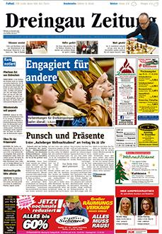 Gratiszeitungen, Titel Dreingau Zeitung
