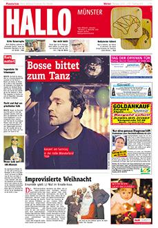 Gratiszeitungen, Titel Hallo Münster