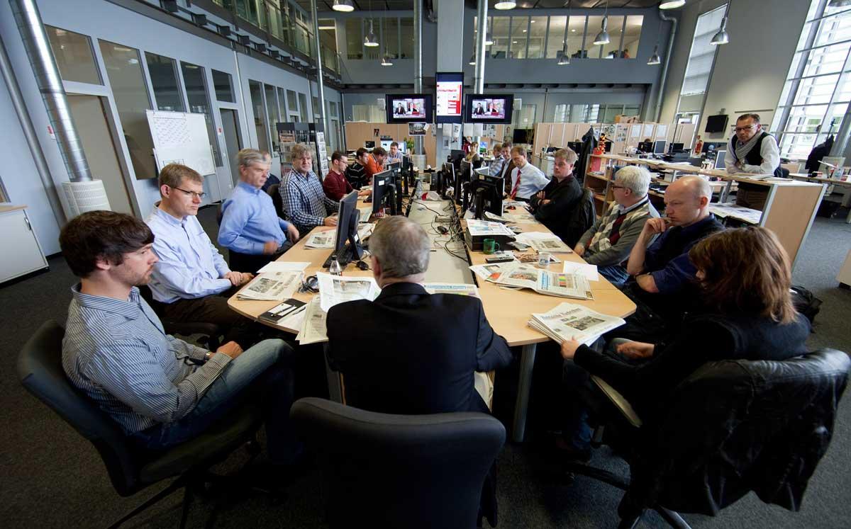 Aschendorff Medien, Redaktion, Newsroom
