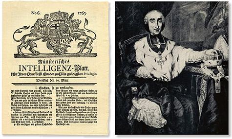Unternehmensgruppe Aschendorff, Historie, Intelligenz-Blatt