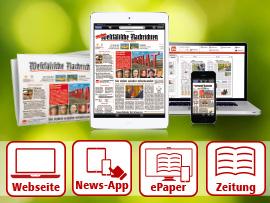 Unternehmensgruppe Aschendorff, Digitale Angebote Tageszeitung