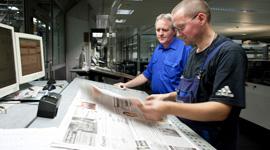Unternehmensgruppe Aschendorff, Ausbildung, Medientechnologe Druck
