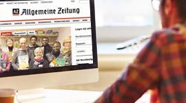 Aschendorff Digital, News-Portale, Allgemeine Zeitung Coesfeld