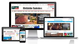 Aschendorff Medien, Anzeigen, Online-Tarif Zeitungsgruppe Münster