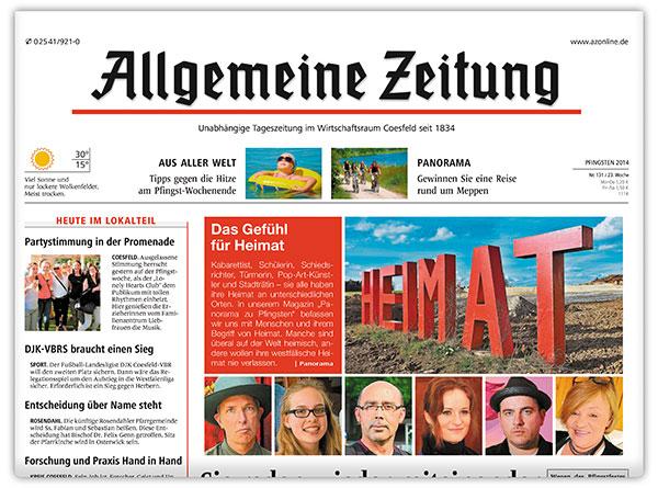 Allgemeine Zeitung Coesfeld