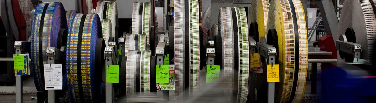 Aschendorff Druckzentrum, Dienstleistungen, Postpress