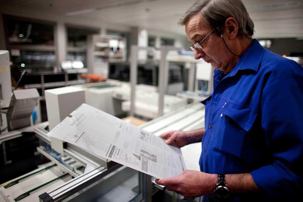 Druckzentrum Aschendorff, Dienstleistungen, Prepress