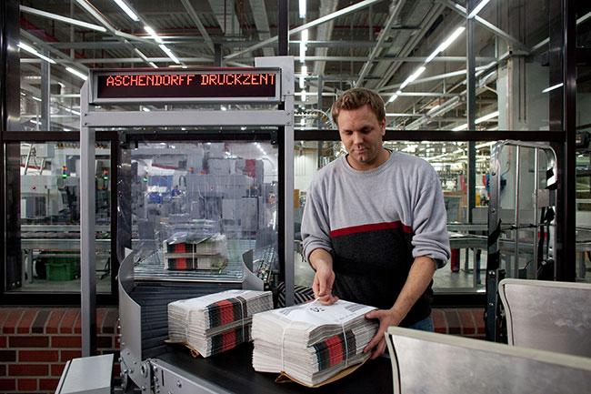 Aschendorff Logistik, Zustellung Gratiszeitungen