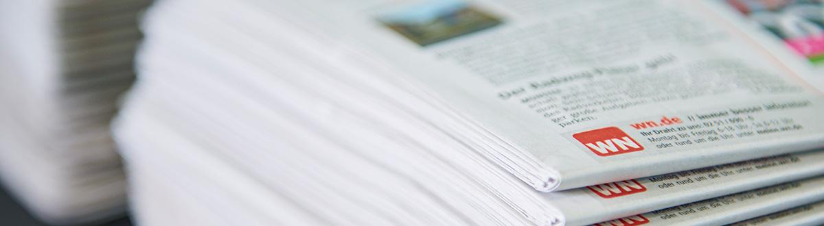 Aschendorff Logistik, Tageszeitungen