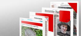 Zeitungsgruppe Münster, Werbeformen Print und Online